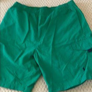 Men's Ralph Lauren bathing suit. Jelly green .